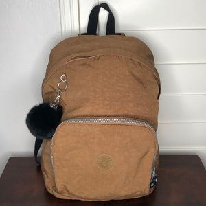 Killing Backpack Large Brownish Gold Tone